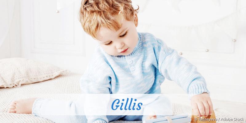 Name Gillis als Bild