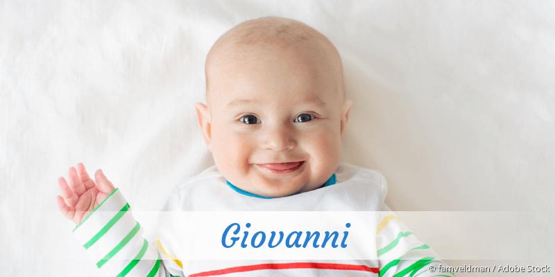Name Giovanni als Bild