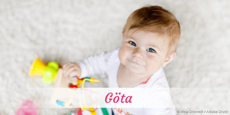 Name Göta als Bild