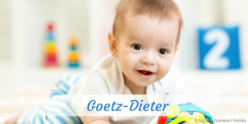 Name Goetz-Dieter als Bild