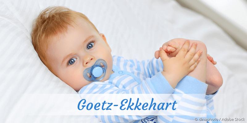 Name Goetz-Ekkehart als Bild