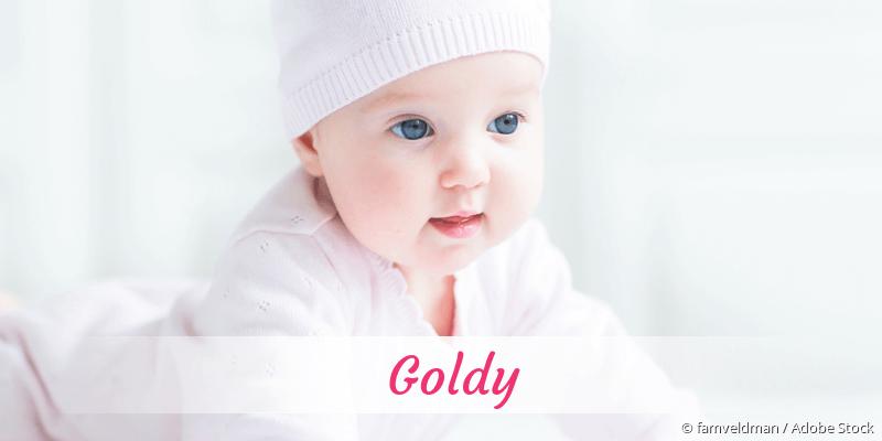 Name Goldy als Bild