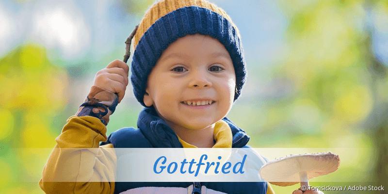 Name Gottfried als Bild