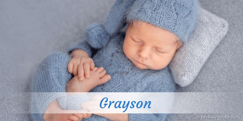 Name Grayson als Bild