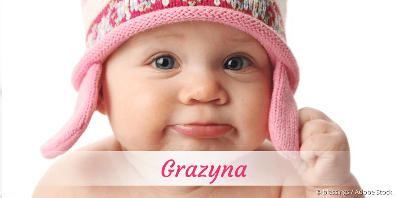 Name Grazyna als Bild