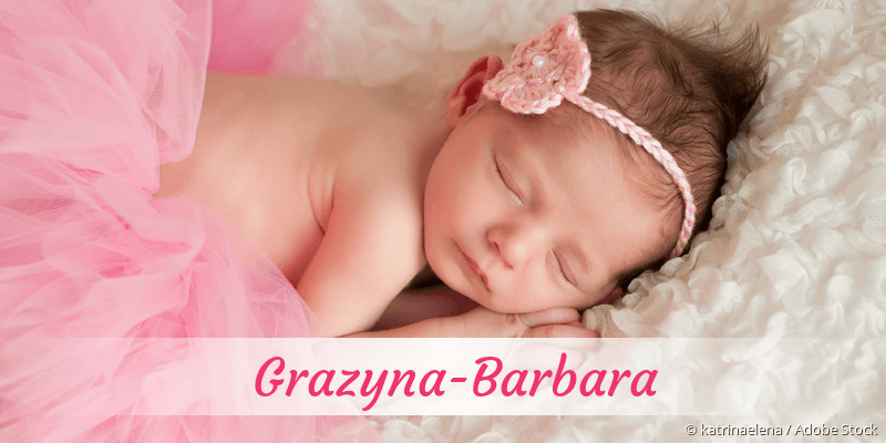 Name Grazyna-Barbara als Bild
