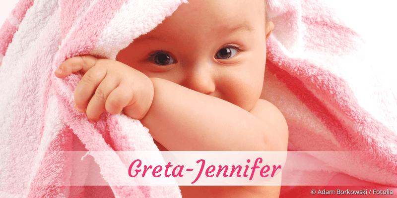 Name Greta-Jennifer als Bild