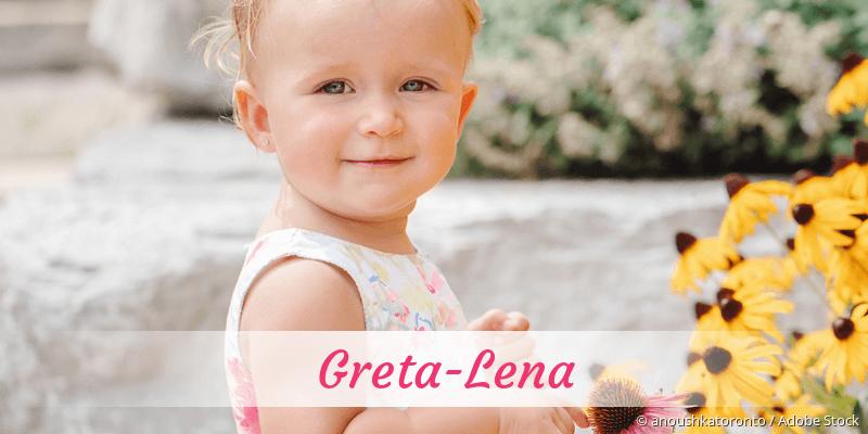Name Greta-Lena als Bild
