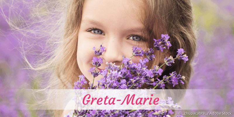 Name Greta-Marie als Bild