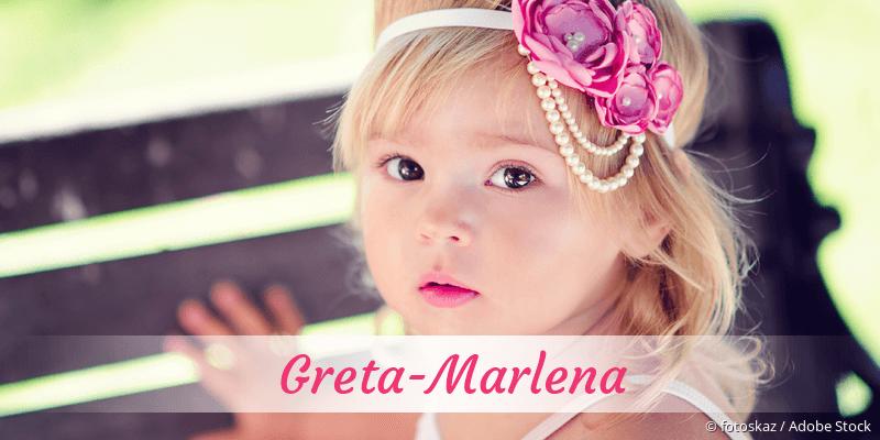 Name Greta-Marlena als Bild