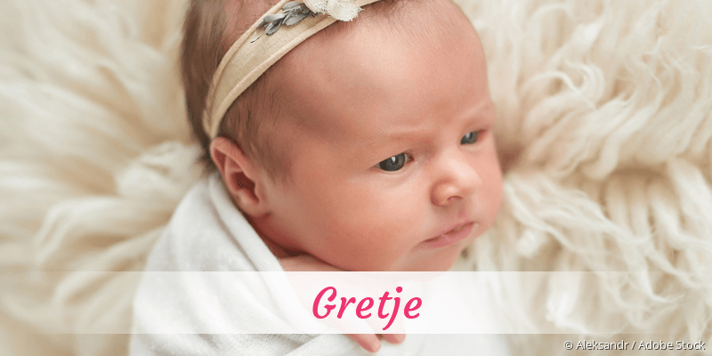 Name Gretje als Bild