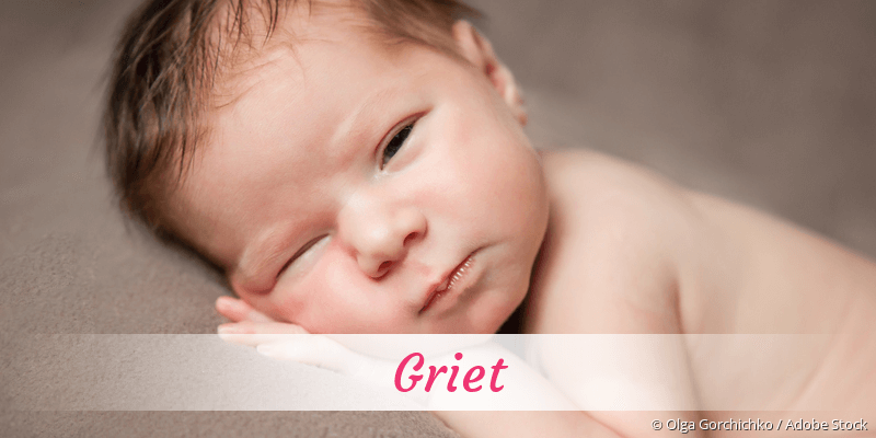 Name Griet als Bild