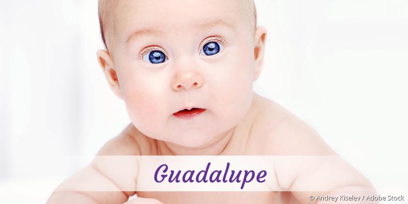 Name Guadalupe als Bild