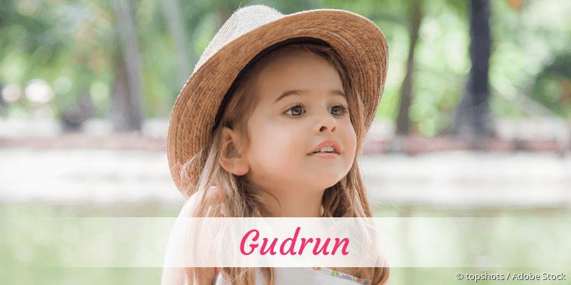 Name Gudrun als Bild