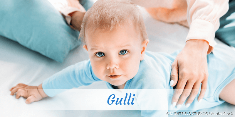 Name Gulli als Bild