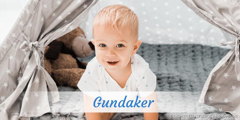 Name Gundaker als Bild