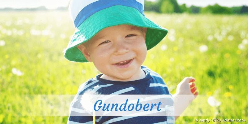 Name Gundobert als Bild