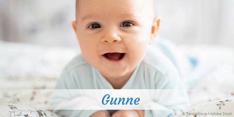 Name Gunne als Bild