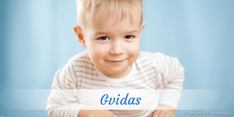 Name Gvidas als Bild
