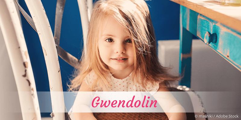 Name Gwendolin als Bild