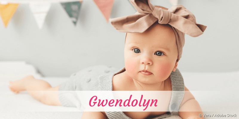 Name Gwendolyn als Bild