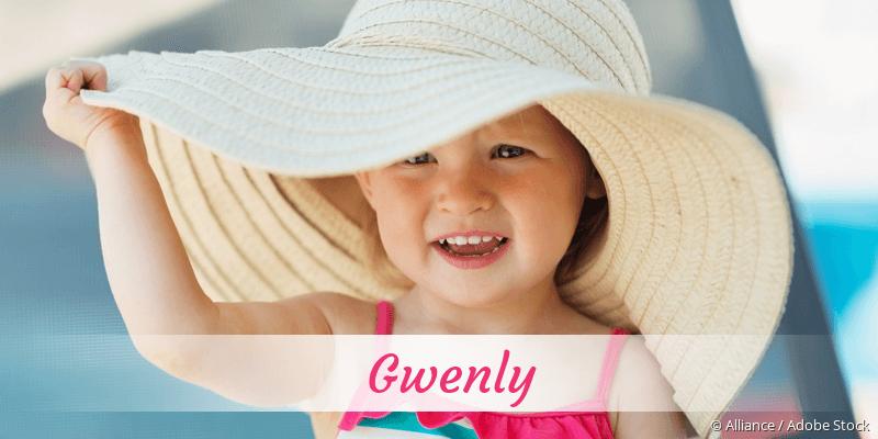 Name Gwenly als Bild