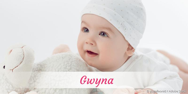 Name Gwyna als Bild