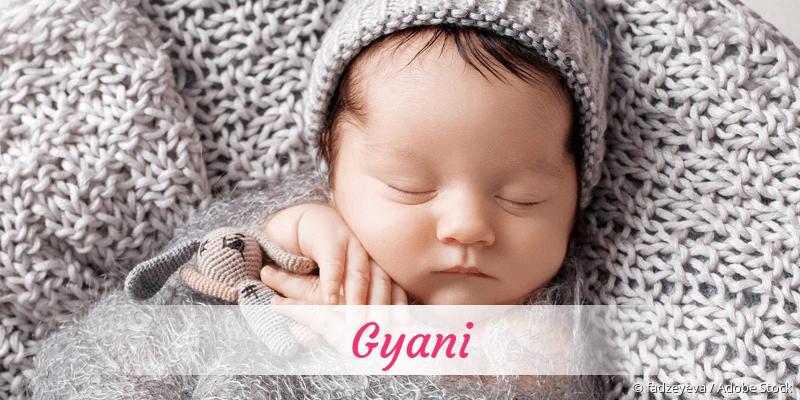 Name Gyani als Bild