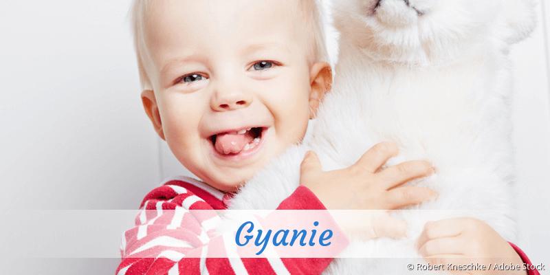 Name Gyanie als Bild