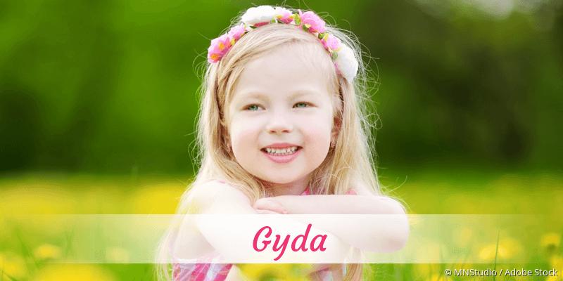 Name Gyda als Bild