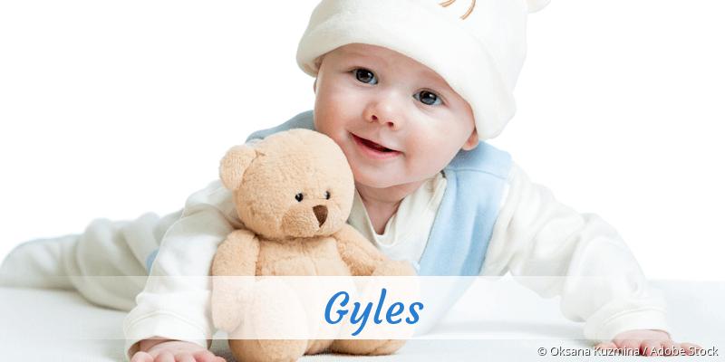 Name Gyles als Bild