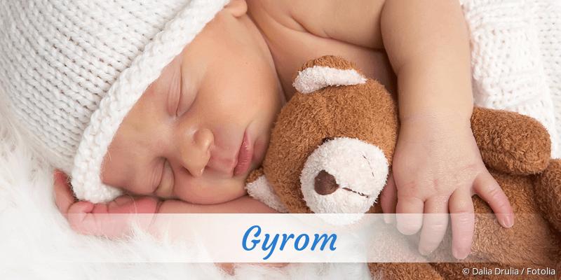 Name Gyrom als Bild