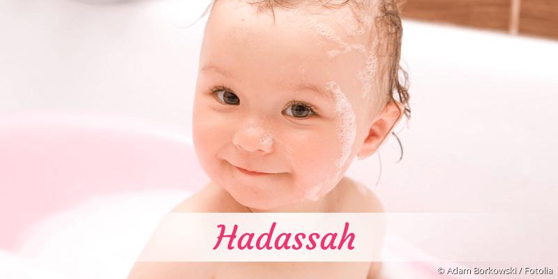 Name Hadassah als Bild