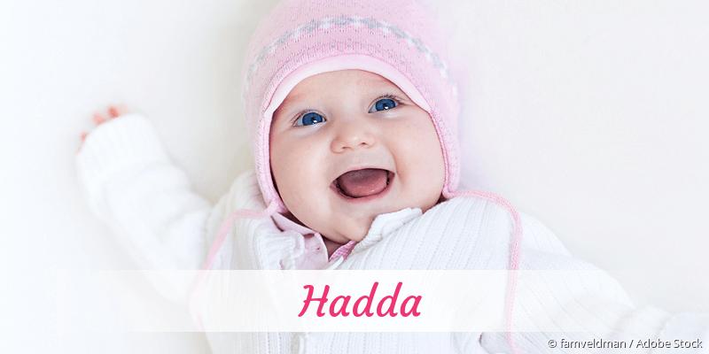 Name Hadda als Bild