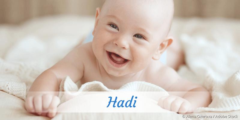 Name Hadi als Bild