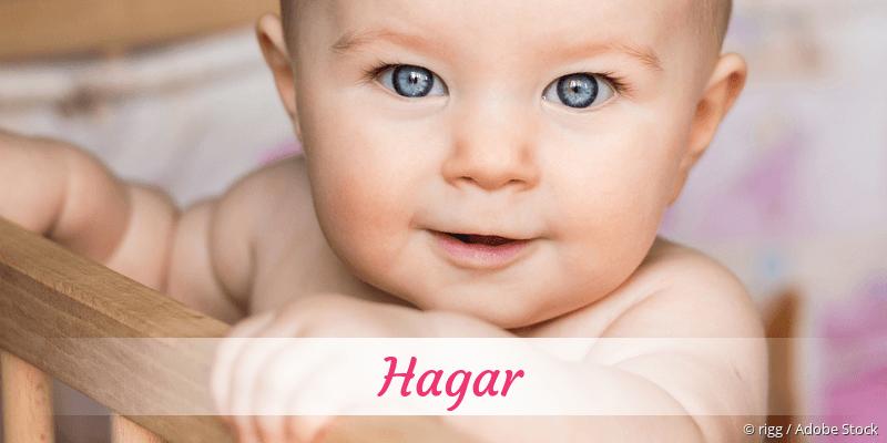 Name Hagar als Bild