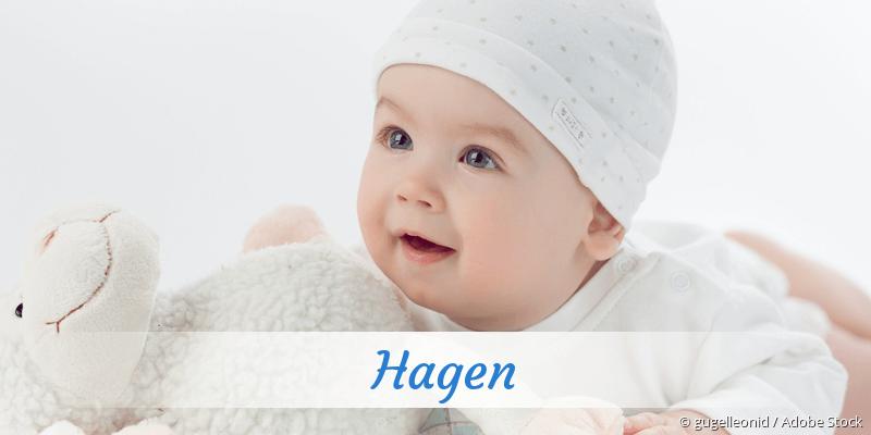 Name Hagen als Bild