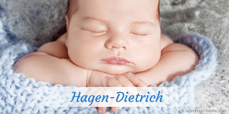 Name Hagen-Dietrich als Bild