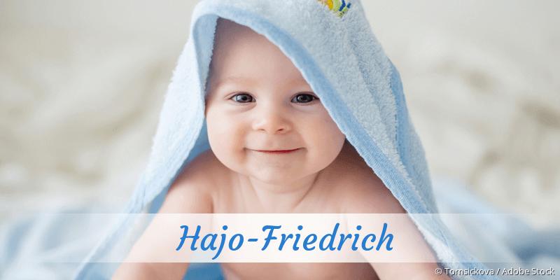 Name Hajo-Friedrich als Bild