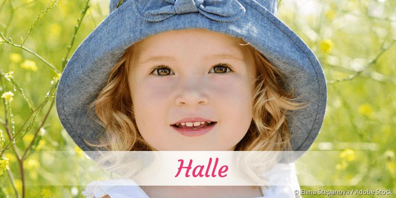 Name Halle als Bild