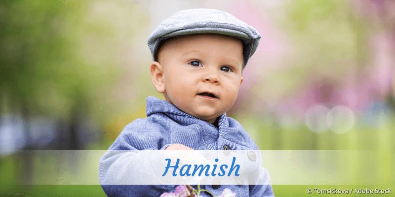 Name Hamish als Bild