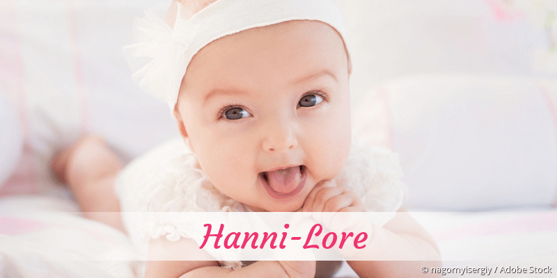 Name Hanni-Lore als Bild