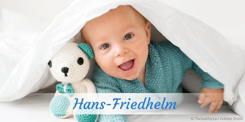 Name Hans-Friedhelm als Bild
