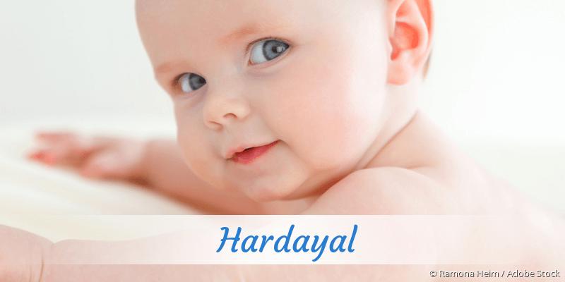 Name Hardayal als Bild