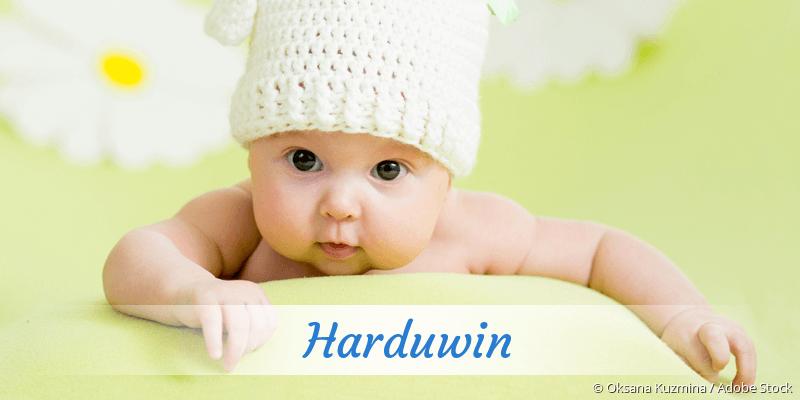 Name Harduwin als Bild