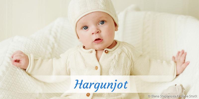 Name Hargunjot als Bild