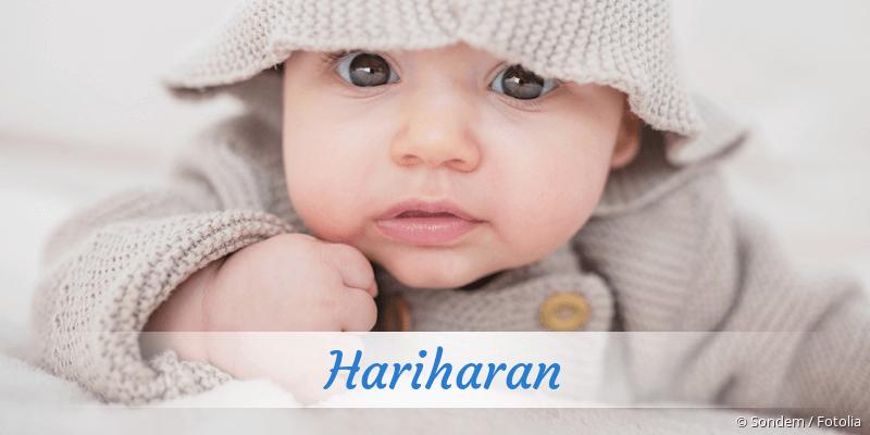 Name Hariharan als Bild