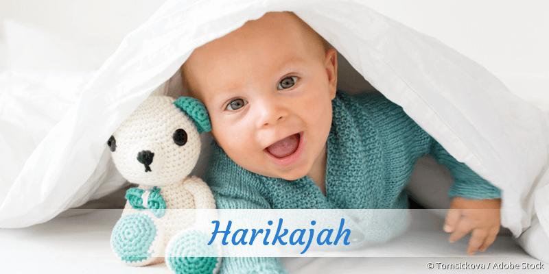 Name Harikajah als Bild