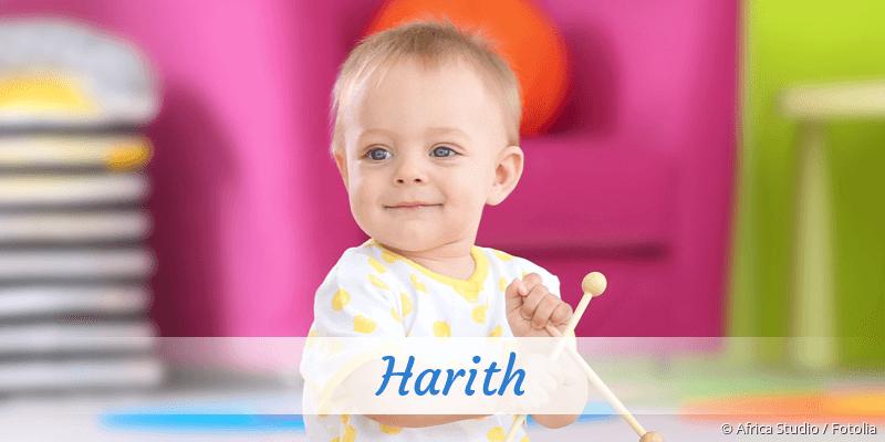 Name Harith als Bild