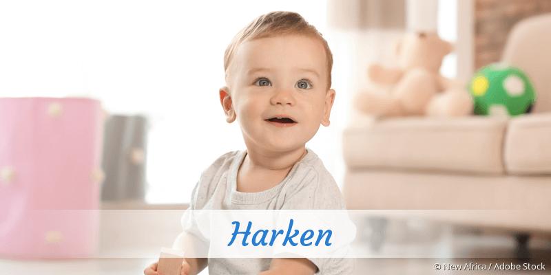 Name Harken als Bild